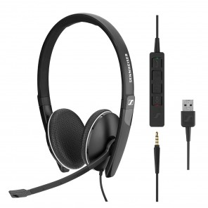 Sennheiser SC165 - USB et Jack 3.5 mm