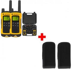 Motorola T80 Extrême + 2 housses robustes avec clip ceinture