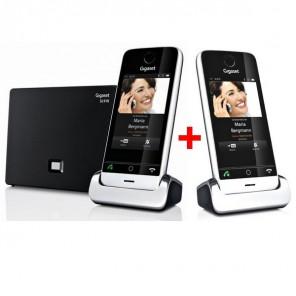 Téléphone Sans Fil Pack Duo : Gigaset SL910A + SL910H
