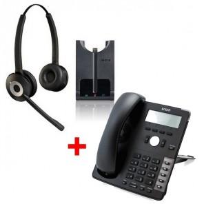 Jabra PRO 920 Duo + Snom D715 avec câble