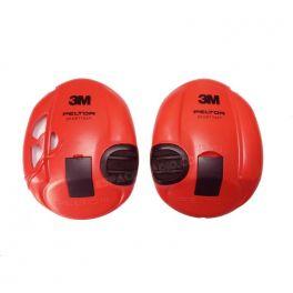 Coques rouges pour casque 3M Peltor Sporttac