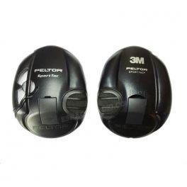 Coques noires pour casque 3M Peltor Sporttac