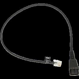 Câble Jabra QD RJ10, 0,5 m compatible avec Siemens et Avaya