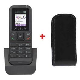 Téléphone sans fil Alcatel-Lucent 8232S DECT + Housse Simili Cuir