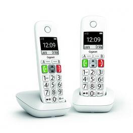 GIGASET E-290 DUO Blanc Téléphones DECT