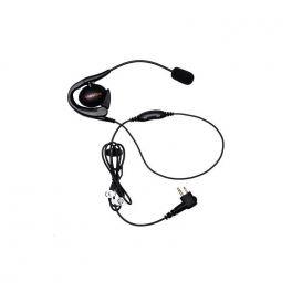Motorola Contour d'oreille avecmicro-tige et PTT pour DP1400