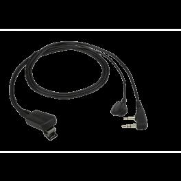 Kit micro-oreillette Kenwood EMC-11W