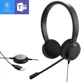 Casque USB Jabra Evolve 20 UC MS Duo