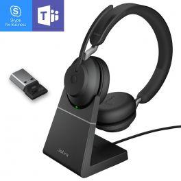 Jabra GN - Evolve2 65 USB-A MS Duo avec base