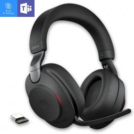 Jabra - Evolve2 85 UC MS Duo Noir USB-C