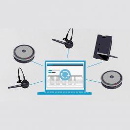 Sennheiser HeadSetup Pro manager Licence 10000 utilisateurs et plus