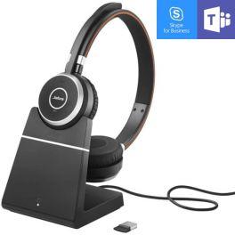 Jabra Evolve 65 UC MS Duo + Socle de charge