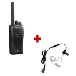 Pack Bodyguard : Kenwood TK-3501 + Kit bodyguard écouteur transparent Vox / PTT