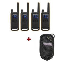 Pack de 4 Motorola Extreme + Housses nylon