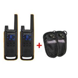 Pack de 2 Motorola talkabout T82 Extreme + Housses