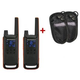 Talkie Walkie Motorola T82 + Housses