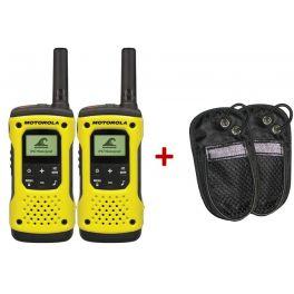 Talkie Walkie Motorola T92 H2O + housses