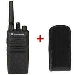 Motorola XT420 + housse robuste avec clip ceinture