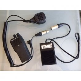 Pédale PTT grutier pour Motorola T80