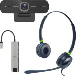 Pack Cleyver Flextool - Spécial télétravail (connexion USB)