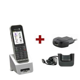 Alcatel 8242S Dect + Pack chargeur et alimentation