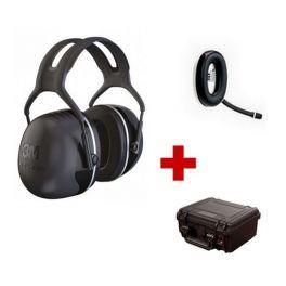 Pack de communication Bluetooth avec 3M Peltor X5