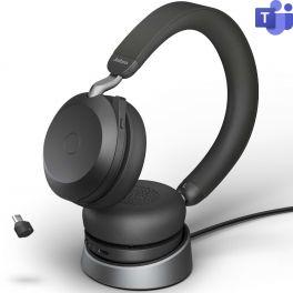 Jabra Evolve2 75 USB-C Microsoft Teams + Socle de charge