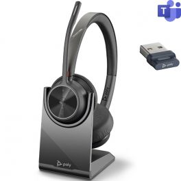 Poly Voyager 4320 USB-A Microsoft Teams + Socle de charge
