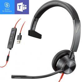 Poly - Plantronics Blackwire 3315 USB-A MS