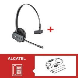 Pack Plantronics CS 540 para télephone Alcatel Serie 8000 et 9000