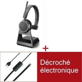 Pack Plantronics Voyager 4210 Office USB-C MS pour téléphone Siemens
