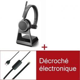 Pack Plantronics Voyager 4210 Office USB-A MS pour téléphone Avaya