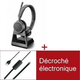 Pack Plantronics Voyager 4220 Office MS USB-A pour téléphone Siemens