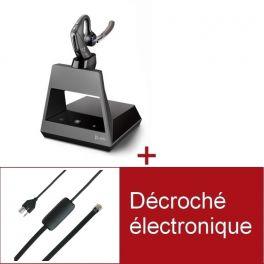 Pack Plantronics Voyager 5200 Office USB-A pour téléphone Siemens