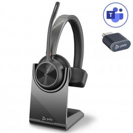 Poly Voyager 4310 USB-C Microsoft Teams + Socle de charge
