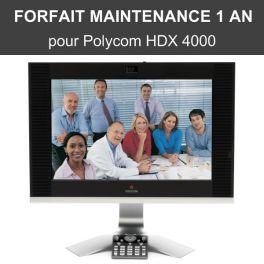 Forfait maintenance Premier 1 an - HDX 4000