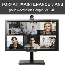 Forfait maintenance 3 ans - Scopia VC240