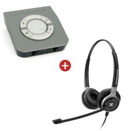 Pack spécial centre d'appels: Sennheiser SC660 + protecteur acoustique UI770
