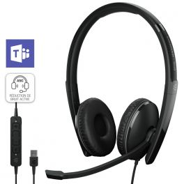 EPOS Adapt 160T ANC USB-A II  – Certifié Microsoft Teams