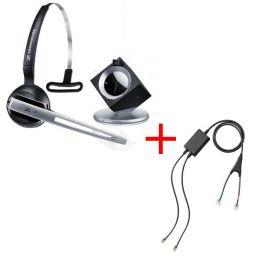Pack pour Cisco: Casque DW 10 Phone + cordon décroché électronique EHS