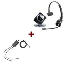 Pack pour Cisco: Casque DW 20 Phone + cordon décroché électronique EHS