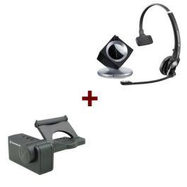 Pack liberté: Casque DW 20 Phone + levier mécanique de décrochage à distance