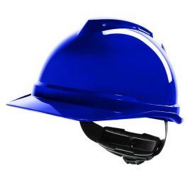 MSA V-Gard 500 Ventilé Coiffe Fas Trac III - Bleu