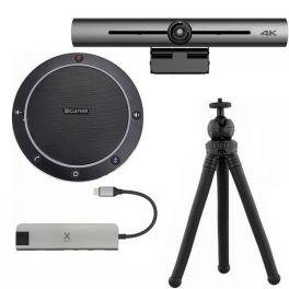 Pack visioconférence - Cleyver CC60 + Barre de visioconférence HD