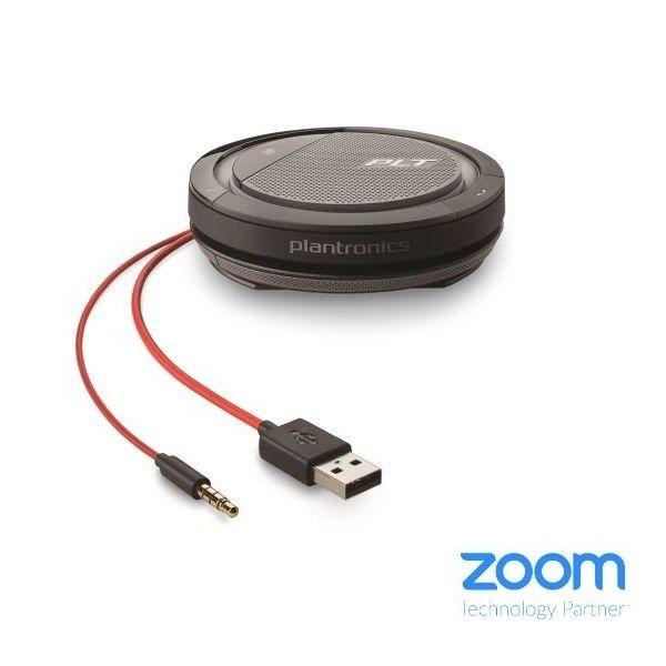Plantronics Calisto 5200 - USB-A et Jack 3.5mm