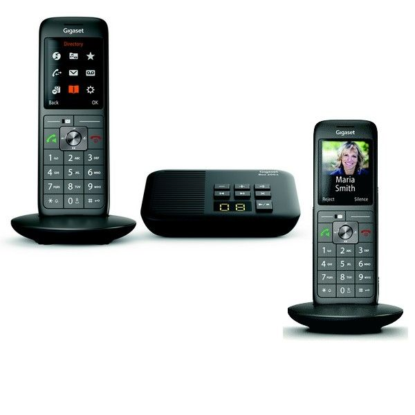 Téléphone sans fil avec répondeur Gigaset CL660A Duo
