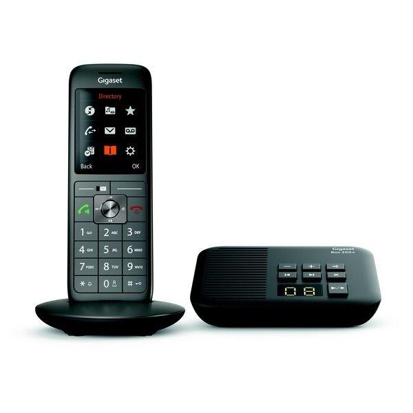 Téléphone fixe sans fil avec répondeur Gigaset CL660A