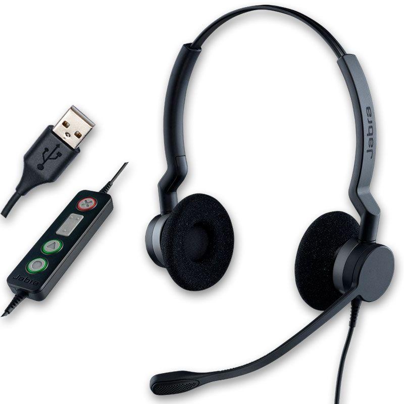 Jabra BIZ 2300 USB Duo - Version UC