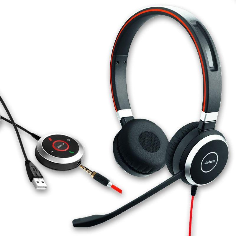 Jabra  Evolve 40 UC - Version Duo