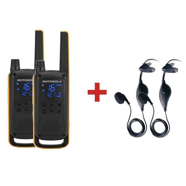 Motorola TLKR T82 Extreme + 2 Kits piétons